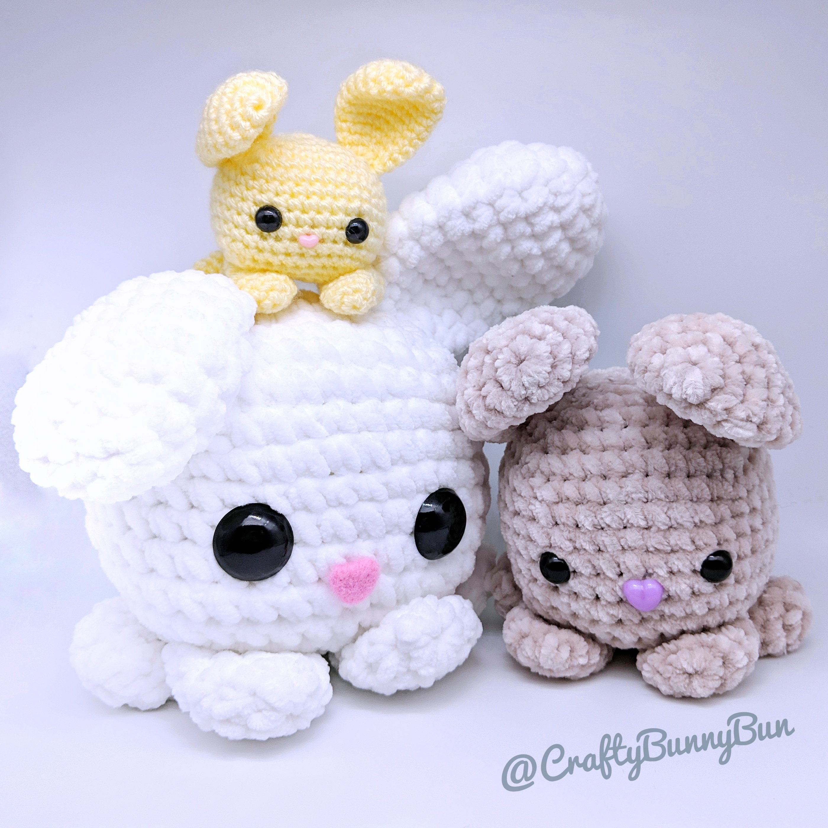 Amigurumi Crochet Bunny Patterns - Amigurumi Patterns Tutorials | 2800x2800