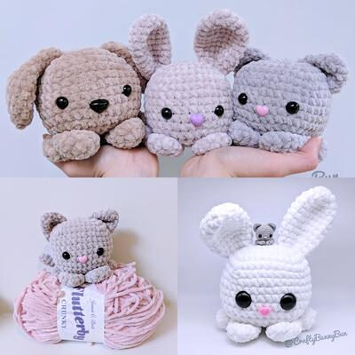 Ravelry: Cuddle Me Puppy pattern by Sharon Ojala | 400x400