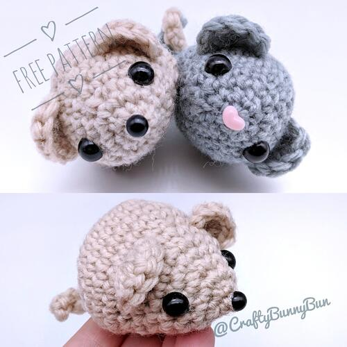 Triangular Mousy Mouse Pattern