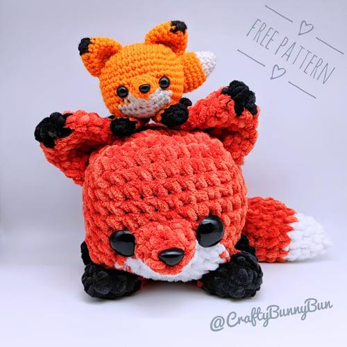 Cube Foxy Fox Amigurumi Pattern
