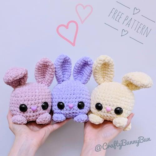 Cube Bunny Rabbit Amigurumi Pattern