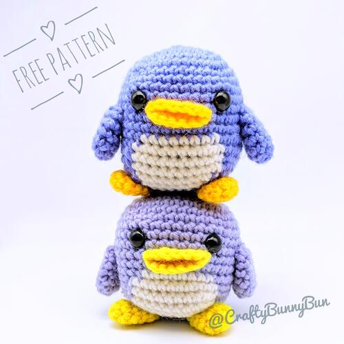 Cube Little Penguin Amigurumi Pattern
