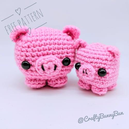 Cube Piggy Pig Amigurumi Pattern