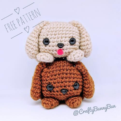 Cube Puppy Dog Amigurumi Pattern