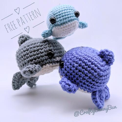 Cube Ocean Friends Amigurumi Pattern