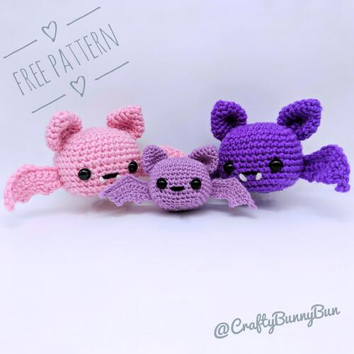 Spooky Batty Bat Amigurumi Pattern