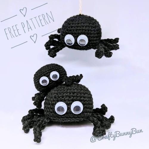 Spooky Spider Bro Amigurumi Pattern