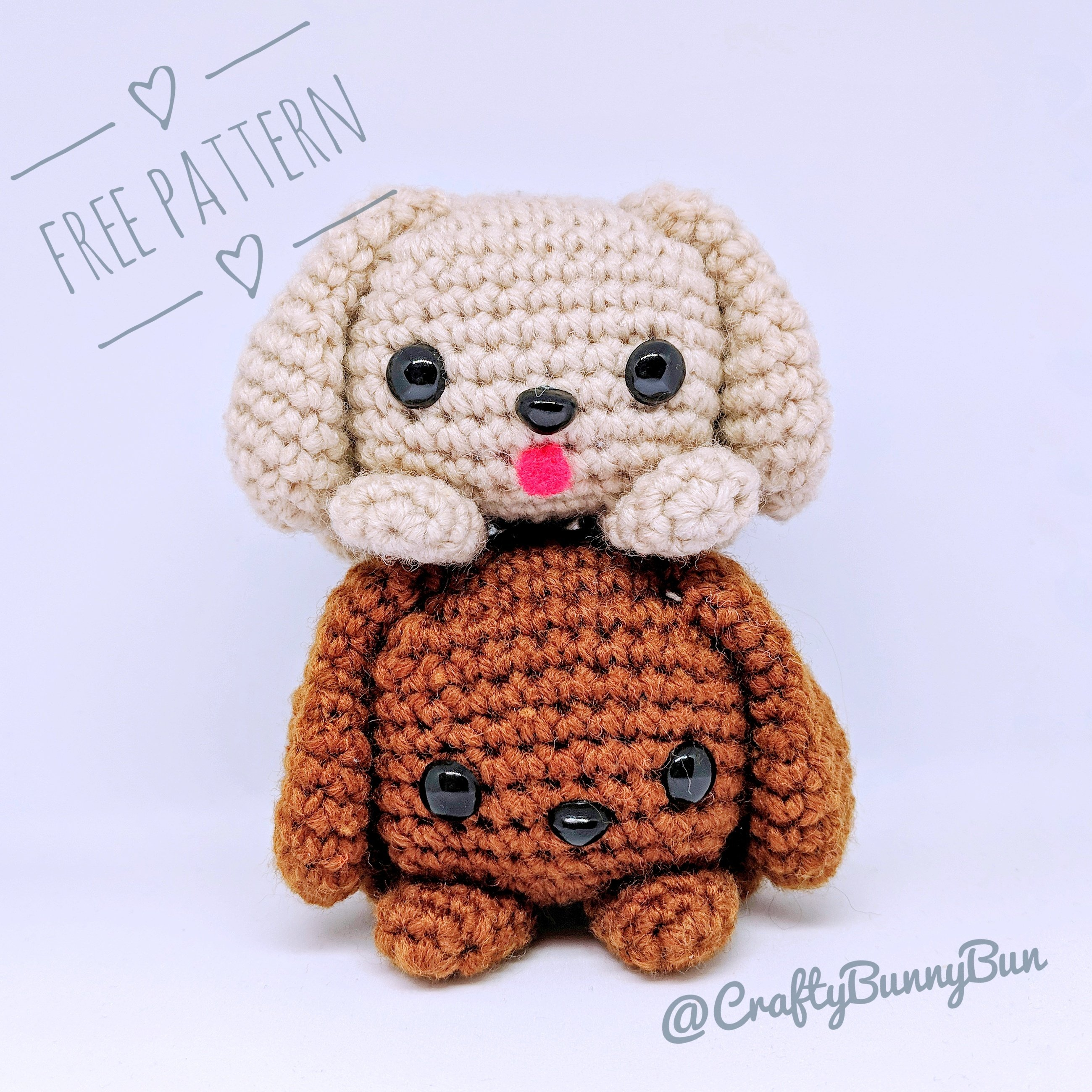 25 Free Amigurumi Dog Crochet Patterns to Download Now! | 2600x2599